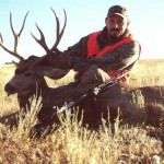 "Eric Braaten's Eastern Washington buck. I scouted this buck for 4 weeks and shot him opening morning.† ""The only problem w"