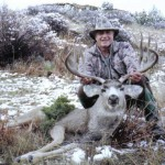 Nate Wesner's father took this fine muley in Eastern Colorado.