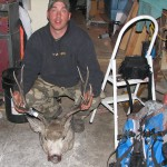 Here is a muley taken in Eastern Montana in 2006 by Mike Wombolt.