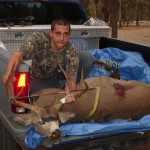 kyle Pearce killed this 170 class buck with his bow. Idaho